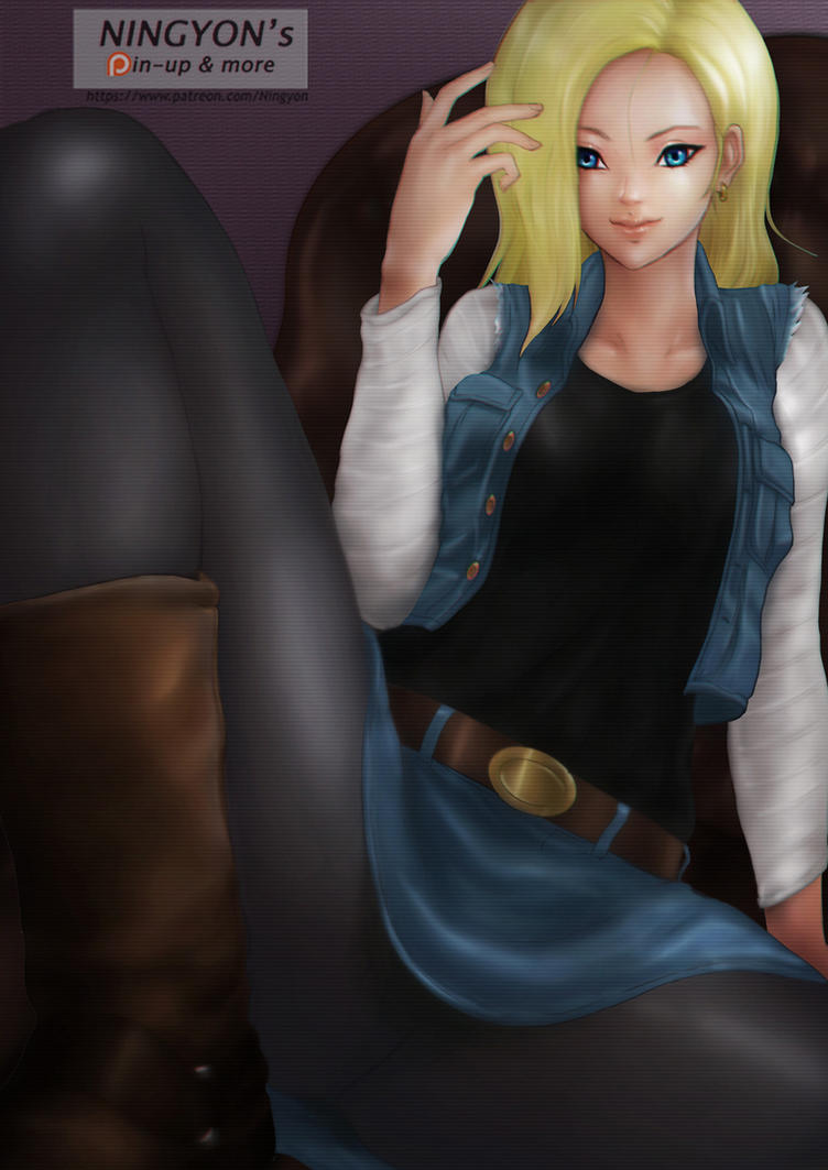 Android18 by NaaN-AnA