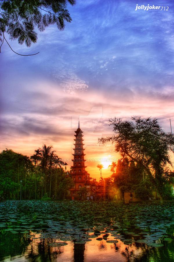 Tran Quoc pagoda - Hanoi by rockstar85