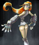 cyborg chick