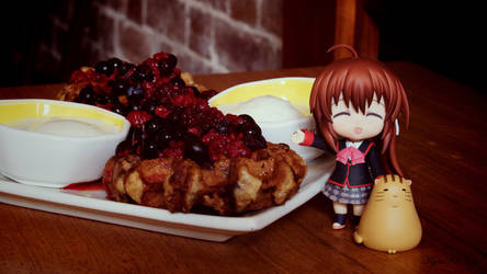 Mixed Berry Waffies With Rin Natsume xD