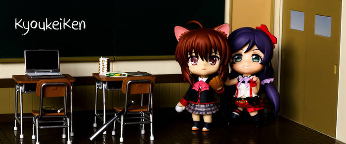 Rin has been captured by Nozomi! - Ultrawide
