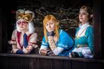 Zelda, Link, Purah