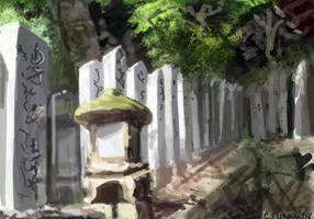 Seclusion Speedpaint by Parcel-Sisters