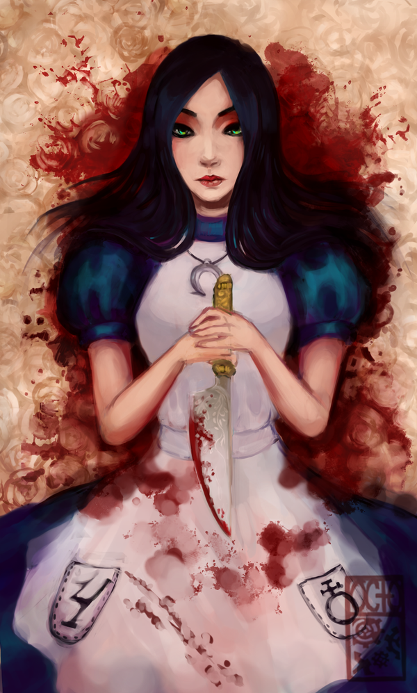 Alice: You can always paint the roses red by OctoGear