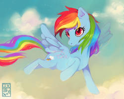 Rainbow Dash by OctoGear