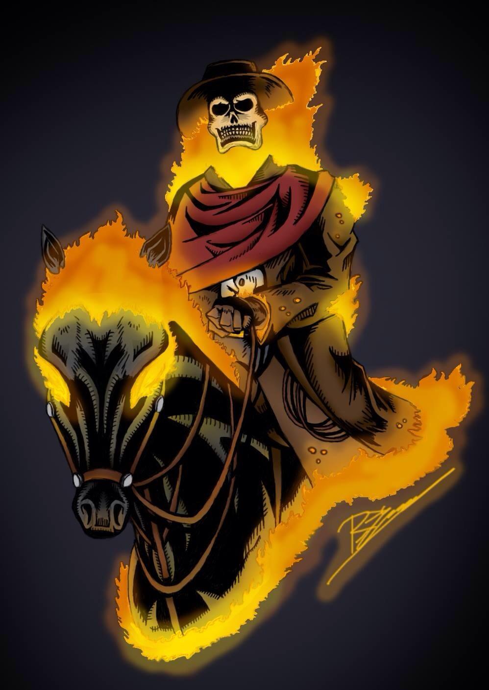 Ghost Rider Carter Slade | www.pixshark.com - Images ...