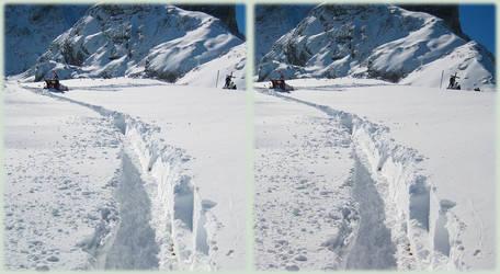 Snowy Pass - 3D xeye by gen2oo9