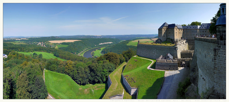Konigstein Fortress by gen2oo9
