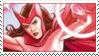 Scarlet Witch Stamp by trinlydraws