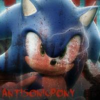 Happy Halloween -AntiSonicPony Icon by LukeVei-Da-Hedgehog