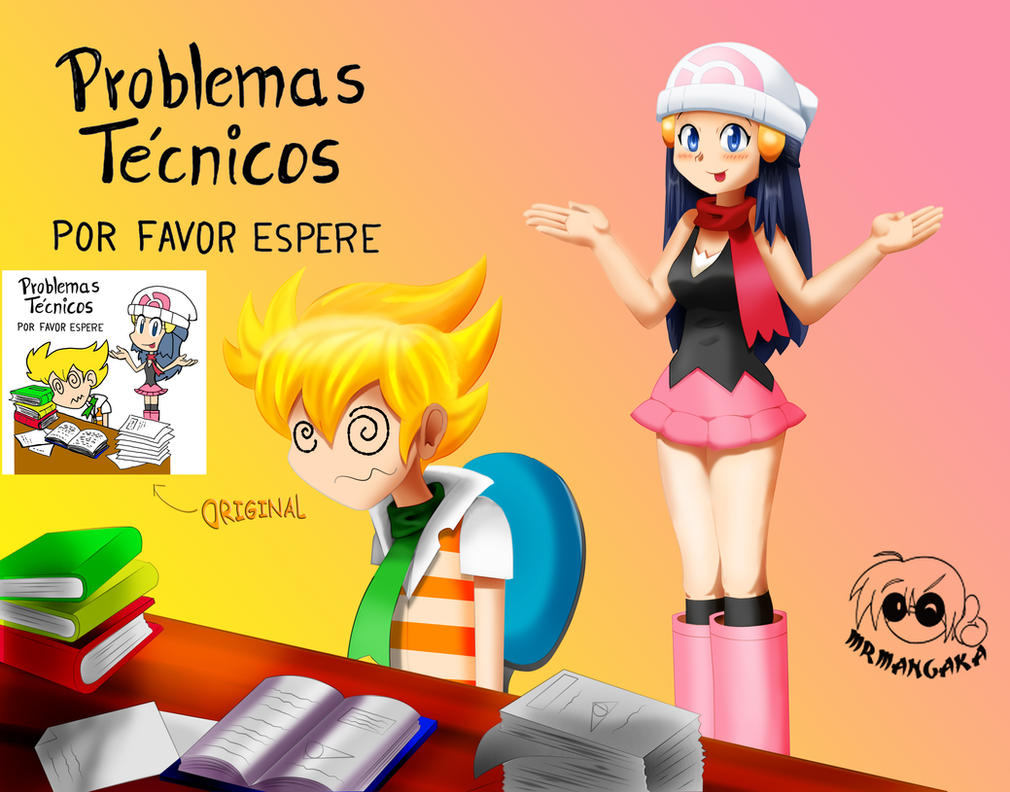 Problemas Tecnicos Por favor espere by xxMrMangakaxx