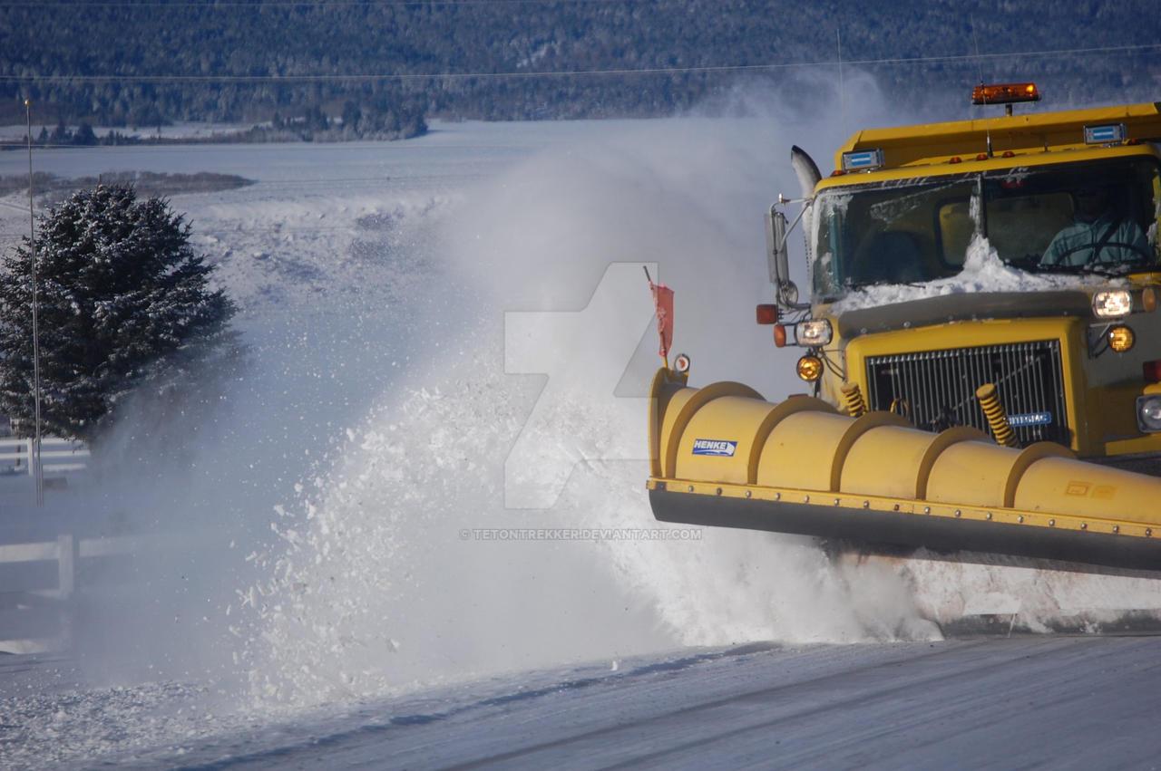 Snow Plow by tetontrekker