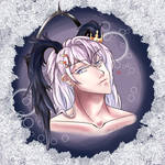 [OC] Alexander - Happy Valentine's Day 2018 by DarkMoonlitStar