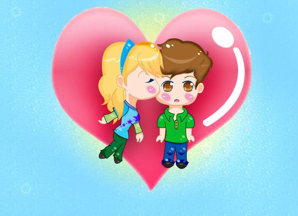 Chibi Love: Seddie Style by Spiritedheart4ever