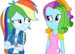 {EG} Rainbow Dash Meets G3 Dash