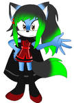 Amity The CatWolf (Redesign)