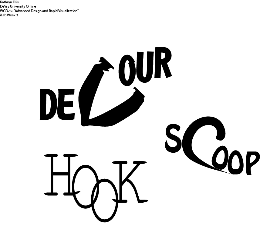 typography assignment by kathrynellis on deviantart