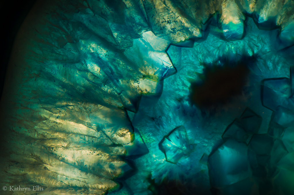 Blue Geode Macro By Kathrynellis On Deviantart