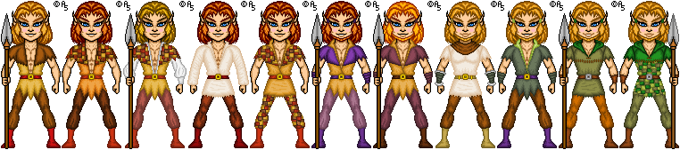 Elfquest: Pike Costumes by thetrappedartist