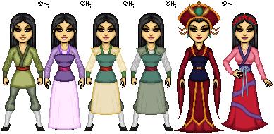 Mulan II by thetrappedartist