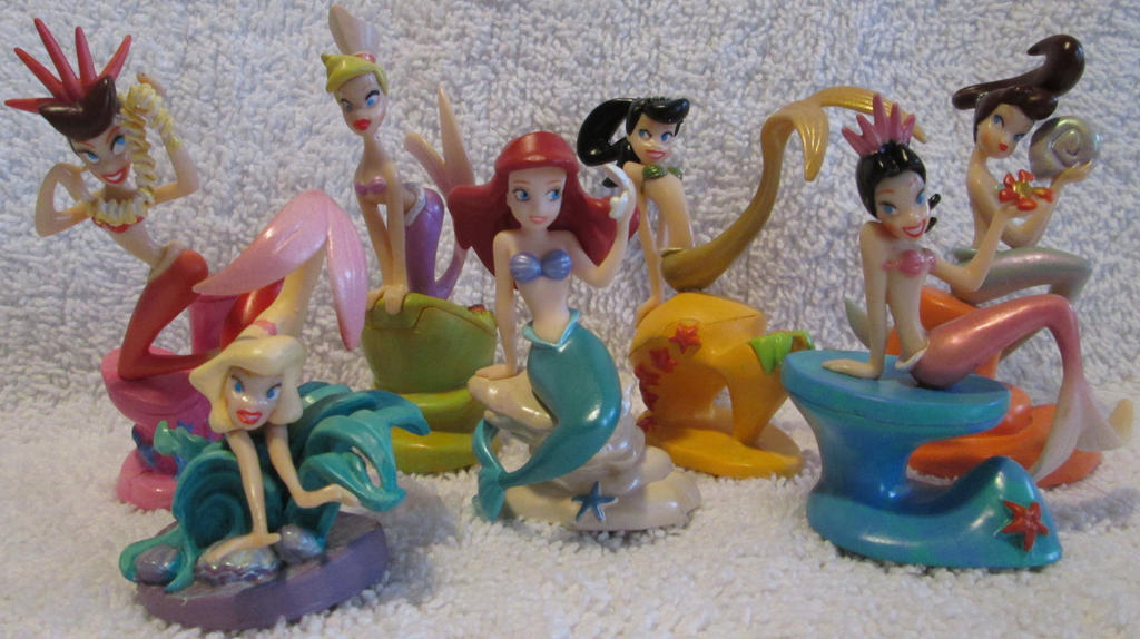 Little Mermaid PVC2 by thetrappedartist