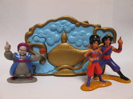 OUAT Aladdin TV Series PVCs