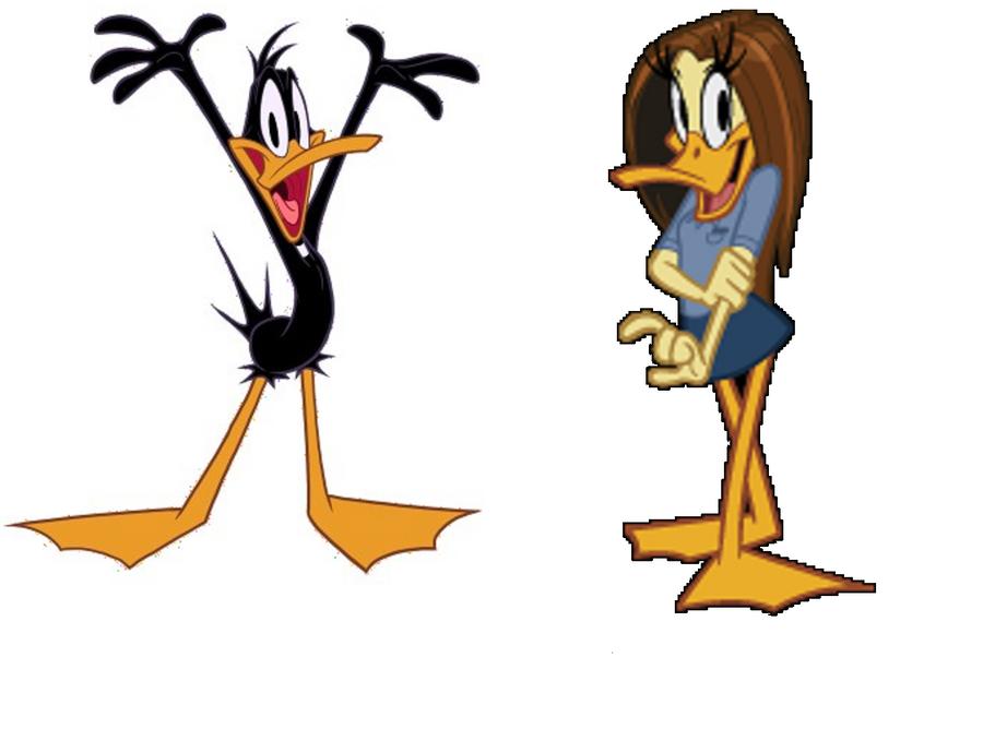 Daffy and Tina by Atsu... Daffy Duck And Tina Duck