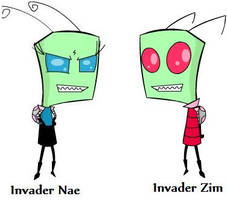 Invader Zim and Nae