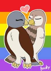 Pride Month: Kestral and Falca