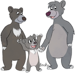 Baloo and Family