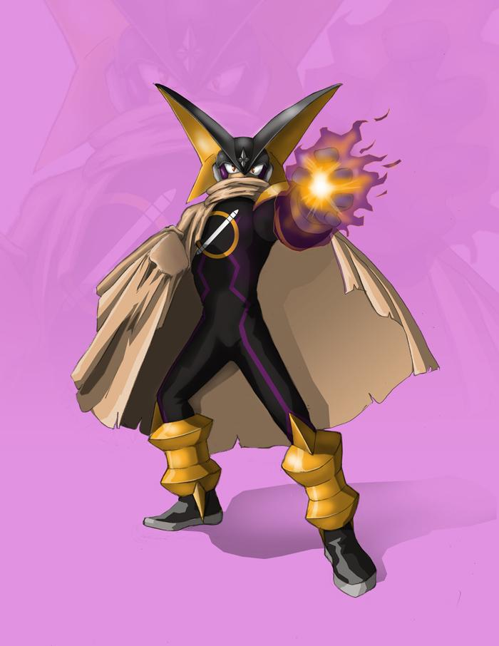 Mega Man: Bass by shaotemp