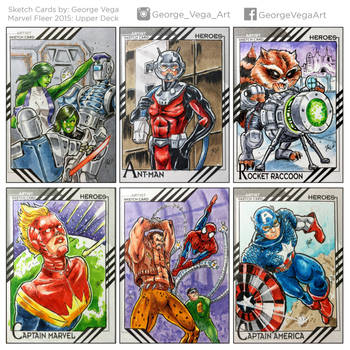 Sketch-cards-Captains-an-more by shaotemp