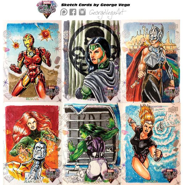 Marvel-Gems-Sketch-cards3 by shaotemp