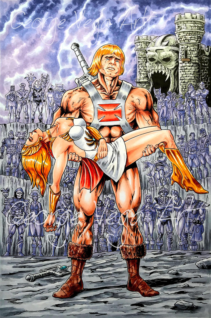 He-Man commission  by shaotemp