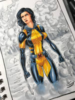 X-23 full color drawing by shaotemp