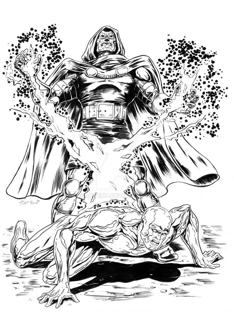Doctor Doom - Silver Surfer