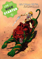 He-Man and BatteCat-Colors by shaotemp