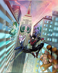 Spiderverse Alley by shaotemp