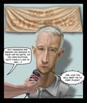 Anderson Cooper caricature