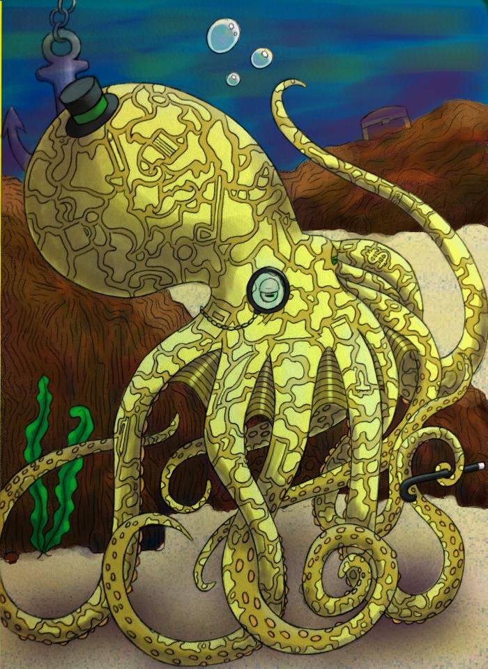 Civilized Cephalopod by jHawk-Design-Studios