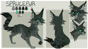 Sprucefur Reference Sheet (Commission)