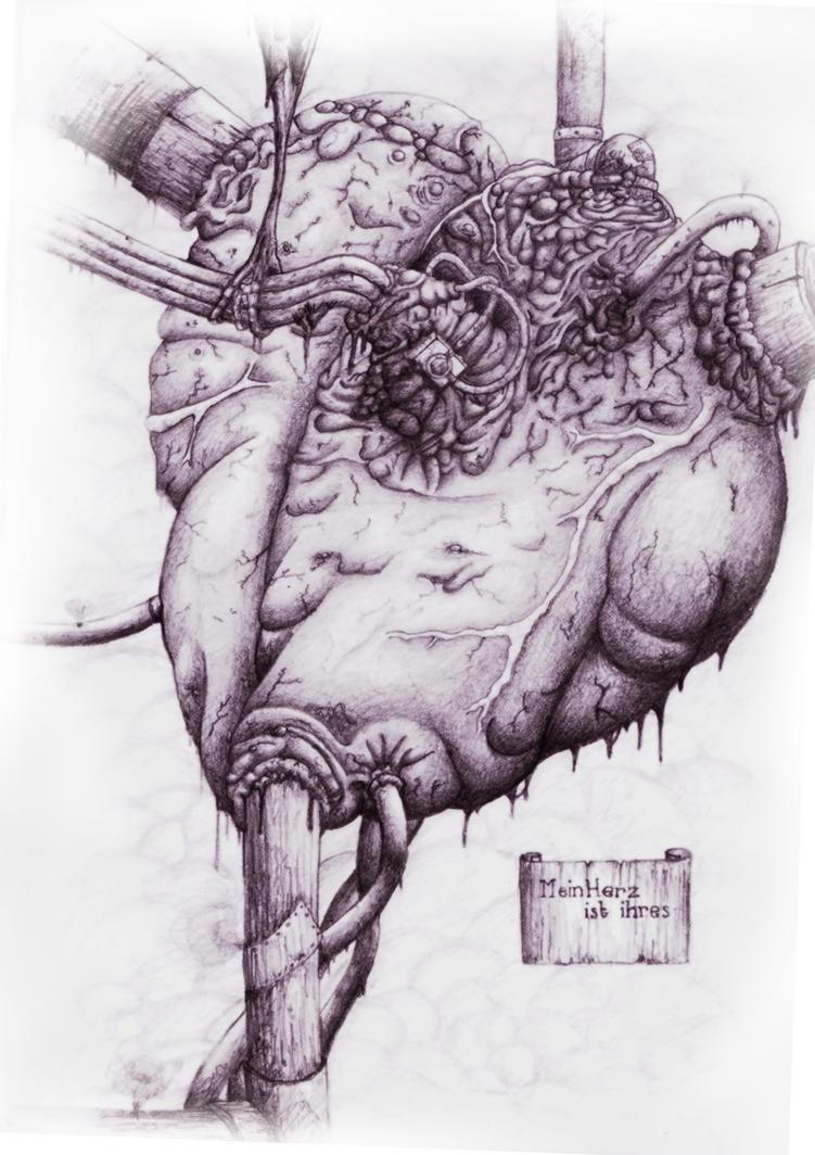 Heart by naytoe
