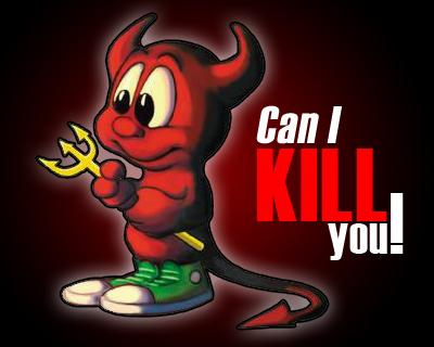 Ufak bir çalışma , şeytan üzerine :)