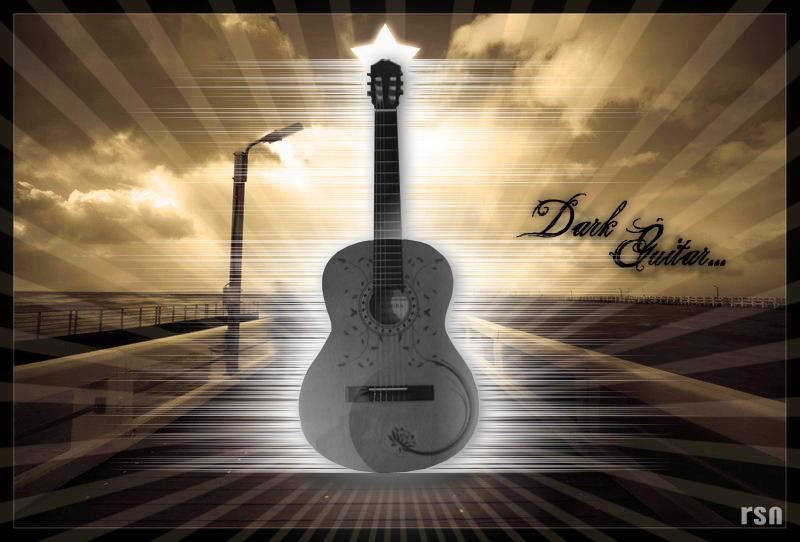 Gitar�ma il�strasyon �al��mas�