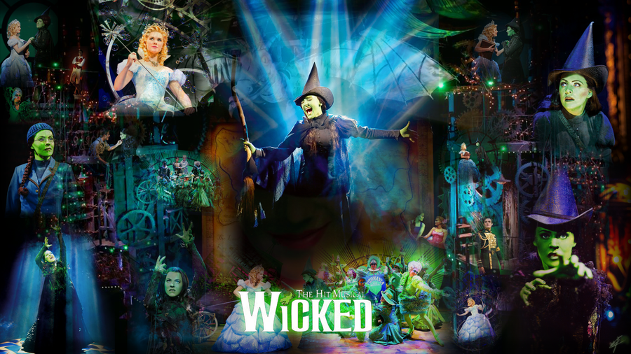 gallery for wicked broadway wallpaper