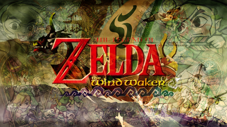 Zelda Wind Waker - Wallpaper? by rymae