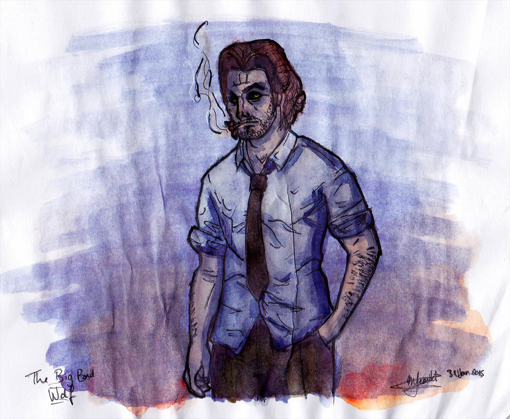 I didn 39 t want to waste paper 2 bigby by rymae on deviantart for Art from waste paper