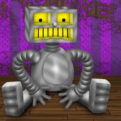 PopFuzz The Robot on a Sad Day
