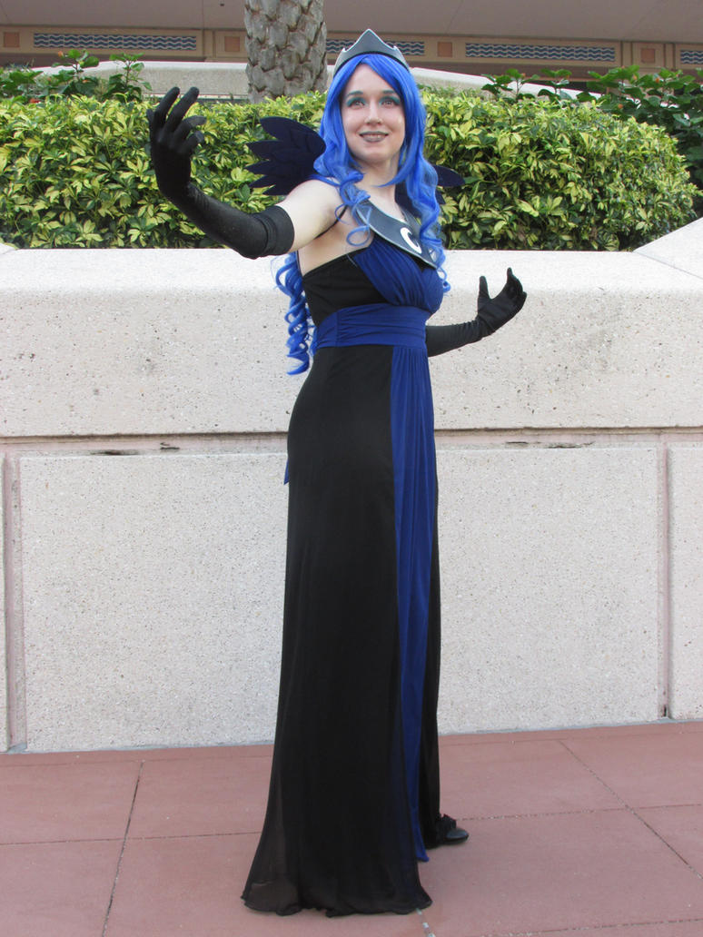 Princess of the Night MetroCon 2015 by ObsidianEmpress
