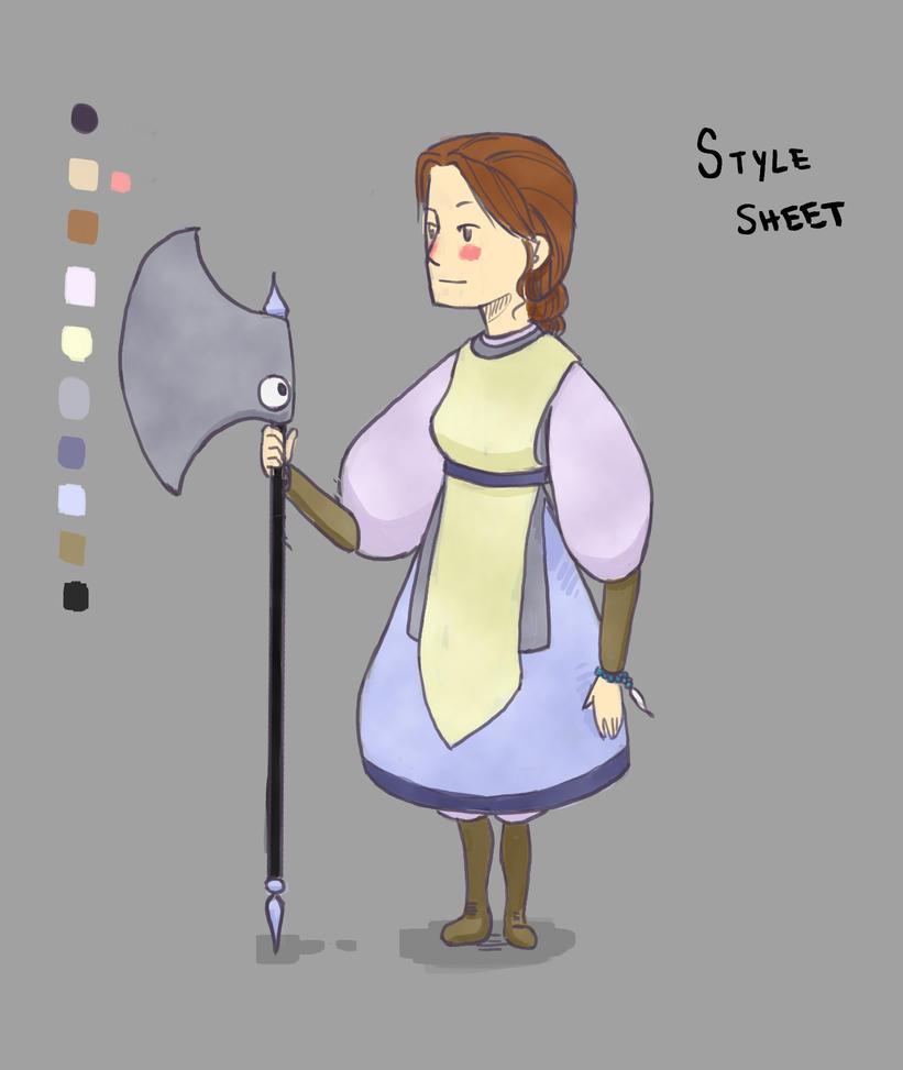 Alexandria StyleSheet by RubyDragoness